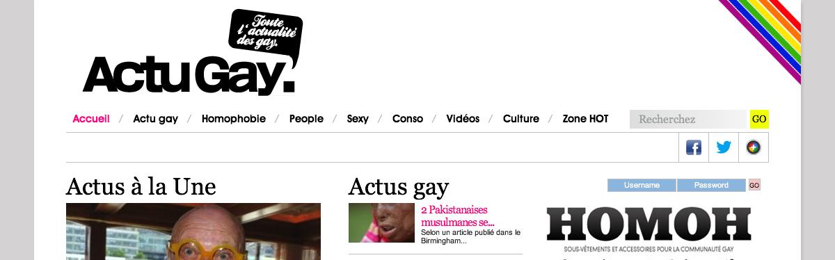 Actu Gay